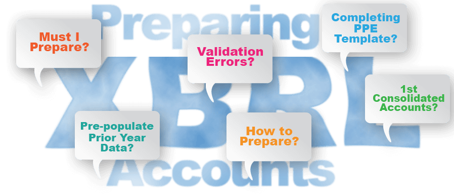 Preparing XBRL Accounts