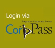Login using CorpgPass