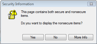 IE Secured Info