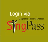 Login using SingPass
